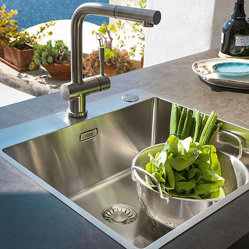 Spülen küchenarmaturen spülen küchenarmaturen grifflos grifflos möbel outlet center